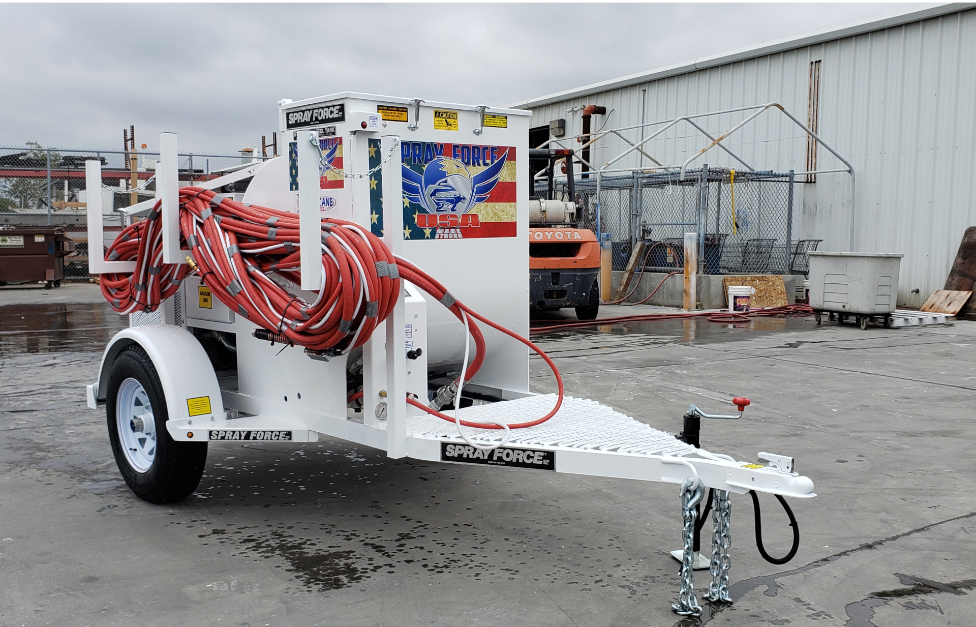 Hurricane 170 drywall rig